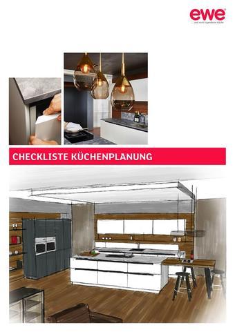 ewe Küchen Werbeflugblatt (bis einschl. 31-12)