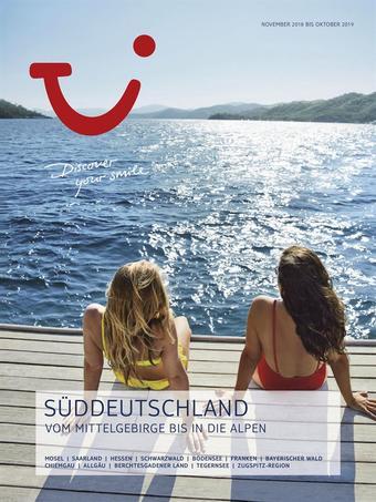 Tui Reisebüro Werbeflugblatt (bis einschl. 30-09)