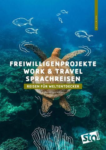 STA Travel Werbeflugblatt (bis einschl. 31-12)