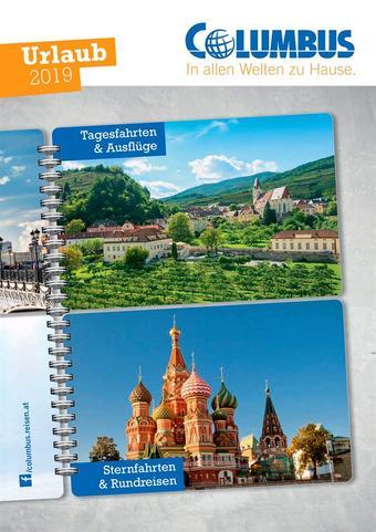 Columbus Reisen Werbeflugblatt (bis einschl. 31-12)