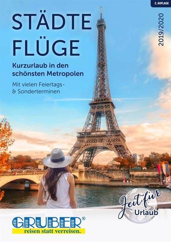 Gruber Reisen Werbeflugblatt (bis einschl. 30-06)