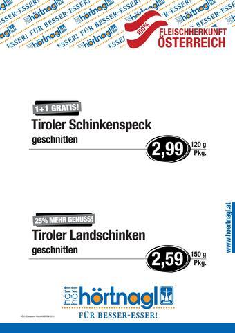 Hörtnagl Werbeflugblatt (bis einschl. 22-09)