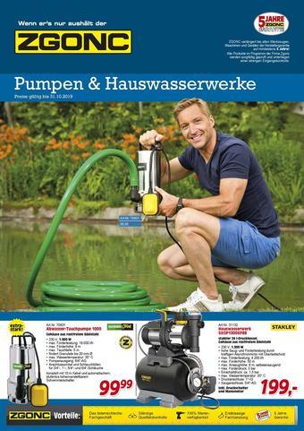 Zgonc Werbeflugblatt (bis einschl. 31-10)