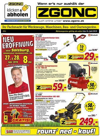 Zgonc Werbeflugblatt (bis einschl. 31-07)