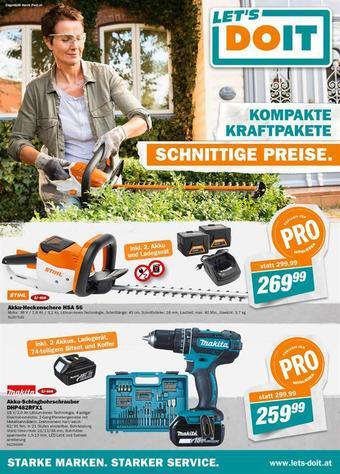 Let's Do It Baumarkt Werbeflugblatt (bis einschl. 06-10)