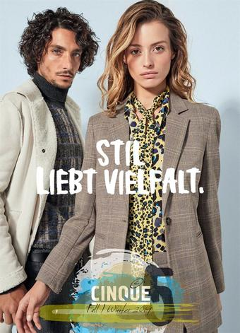 Cinque Werbeflugblatt (bis einschl. 29-02)