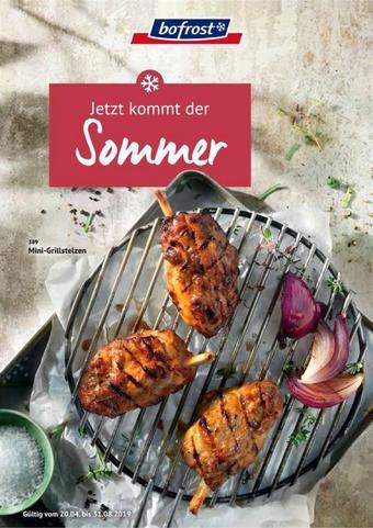 Bofrost Werbeflugblatt (bis einschl. 31-08)