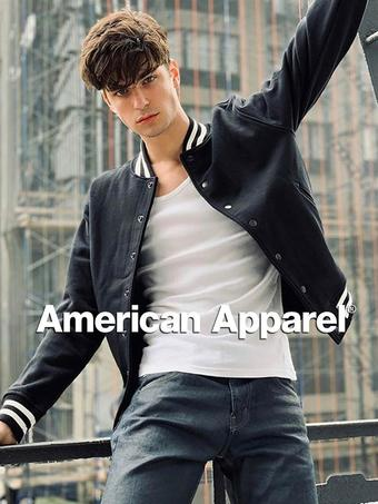 American Apparel Werbeflugblatt (bis einschl. 18-08)