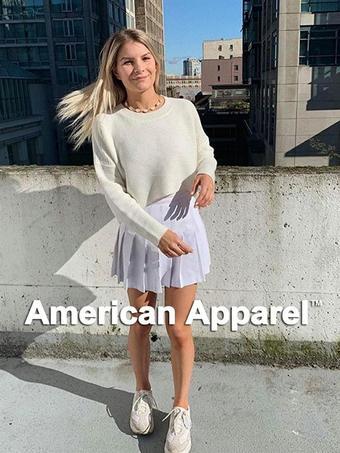 American Apparel Werbeflugblatt (bis einschl. 15-10)