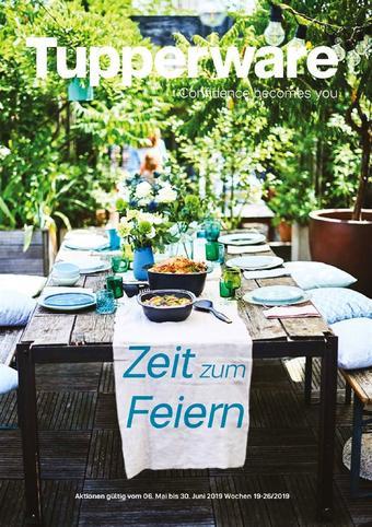 Tupperware Werbeflugblatt (bis einschl. 30-06)