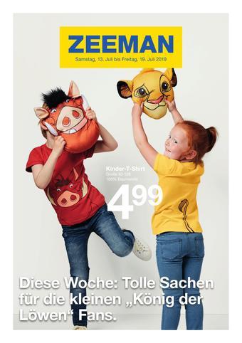 Zeeman Werbeflugblatt (bis einschl. 19-07)