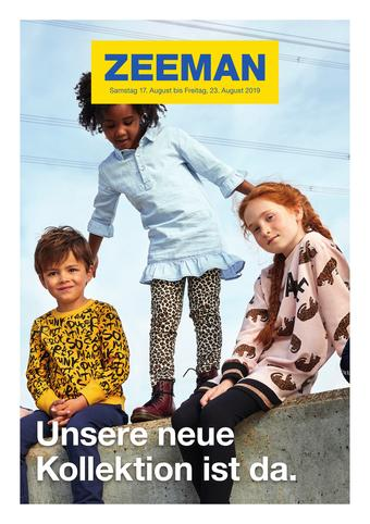 Zeeman Werbeflugblatt (bis einschl. 23-08)
