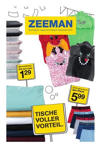 Zeeman Werbeflugblatt (bis einschl. 06-09)