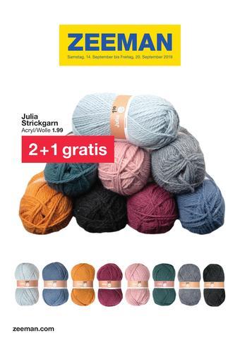Zeeman Werbeflugblatt (bis einschl. 20-09)