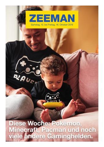 Zeeman Werbeflugblatt (bis einschl. 18-10)