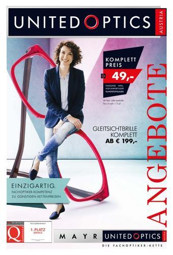 United Optics Werbeflugblatt (bis einschl. 31-10)