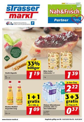 Strasser Markt Werbeflugblatt (bis einschl. 16-07)