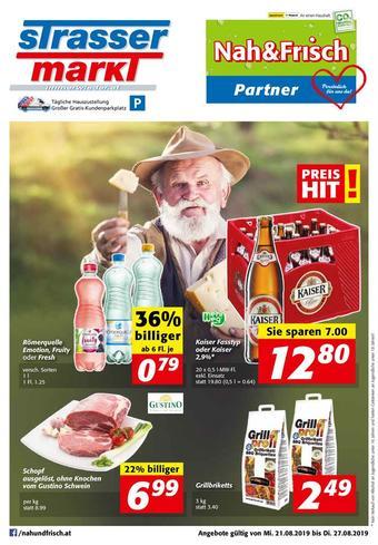 Strasser Markt Werbeflugblatt (bis einschl. 27-08)