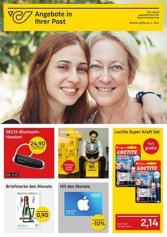 Post Werbeflugblatt (bis einschl. 25-05)