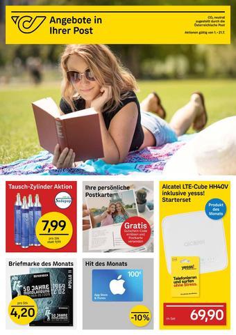 Post Werbeflugblatt (bis einschl. 21-07)