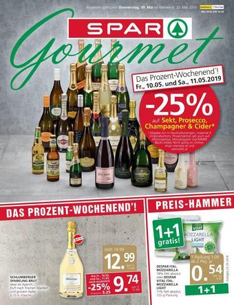 SPAR-Gourmet Werbeflugblatt (bis einschl. 22-05)