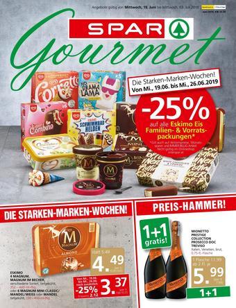 SPAR-Gourmet Werbeflugblatt (bis einschl. 03-07)