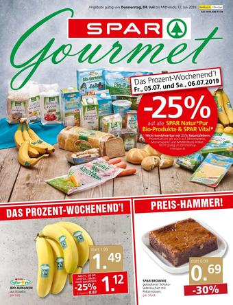 SPAR-Gourmet Werbeflugblatt (bis einschl. 17-07)