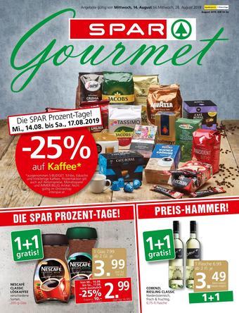 SPAR-Gourmet Werbeflugblatt (bis einschl. 28-08)