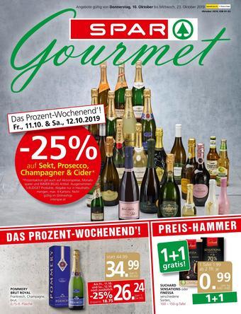 SPAR-Gourmet Werbeflugblatt (bis einschl. 23-10)