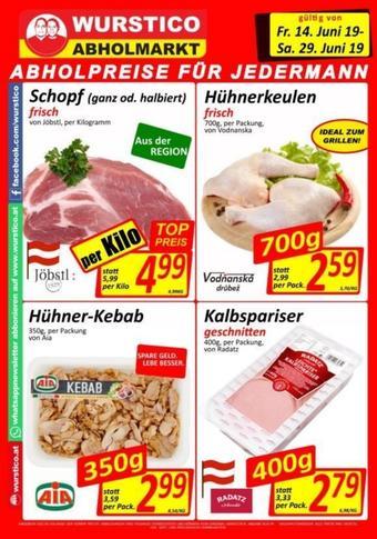 Wurstico Werbeflugblatt (bis einschl. 29-06)