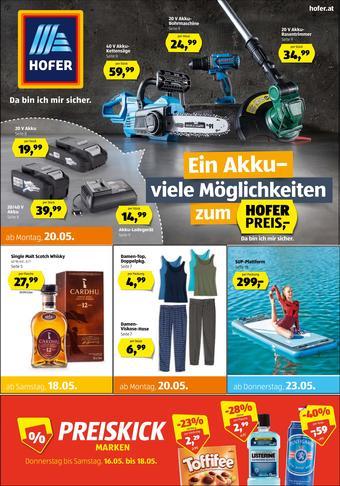 Hofer Werbeflugblatt (bis einschl. 25-05)