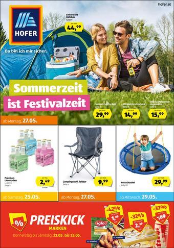 Hofer Werbeflugblatt (bis einschl. 29-05)