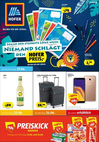 Hofer Werbeflugblatt (bis einschl. 29-06)