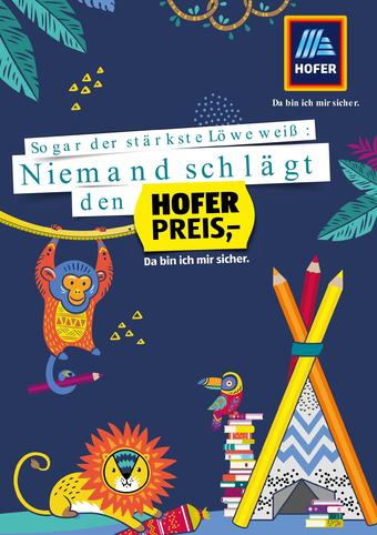 Hofer Werbeflugblatt (bis einschl. 31-08)