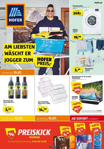 Hofer Werbeflugblatt (bis einschl. 20-07)