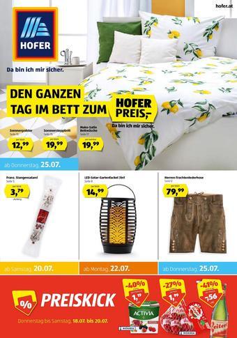 Hofer Werbeflugblatt (bis einschl. 27-07)