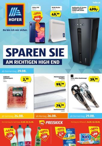 Hofer Werbeflugblatt (bis einschl. 30-08)