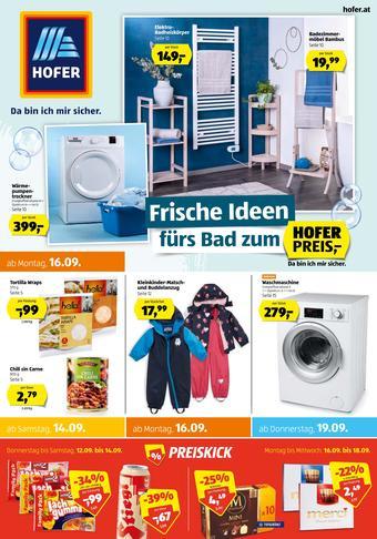 Hofer Werbeflugblatt (bis einschl. 21-09)