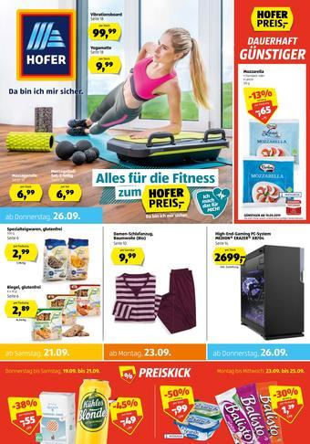 Hofer Werbeflugblatt (bis einschl. 28-09)
