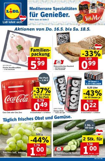 Lidl Werbeflugblatt (bis einschl. 22-05)