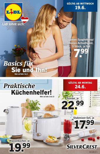 Lidl Werbeflugblatt (bis einschl. 26-06)