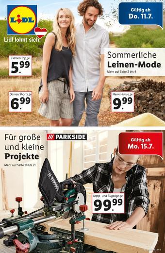 Lidl Werbeflugblatt (bis einschl. 17-07)