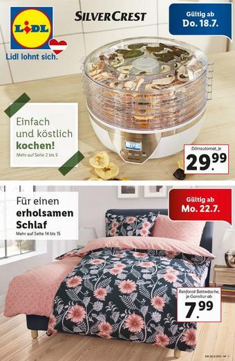Lidl Werbeflugblatt (bis einschl. 26-07)