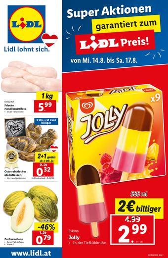 Lidl Werbeflugblatt (bis einschl. 21-08)