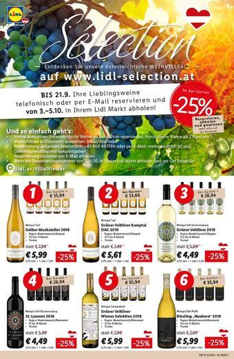 Lidl Werbeflugblatt (bis einschl. 21-09)