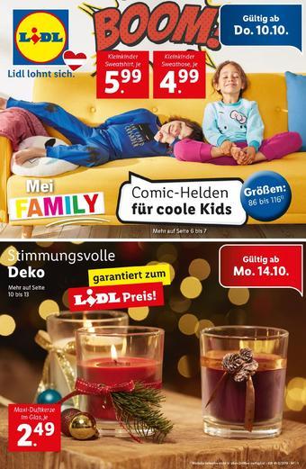 Lidl Werbeflugblatt (bis einschl. 16-10)