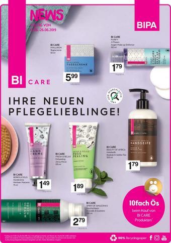 Bipa Werbeflugblatt (bis einschl. 26-06)