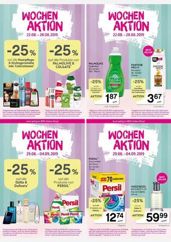 Bipa Werbeflugblatt (bis einschl. 28-08)