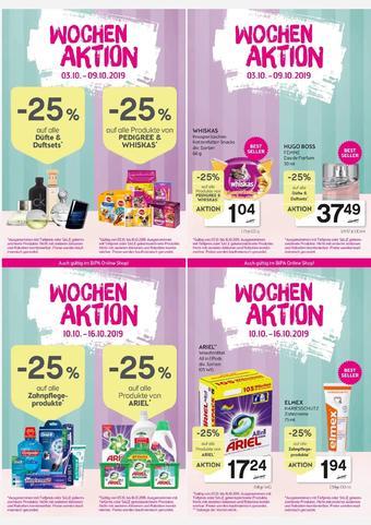 Bipa Werbeflugblatt (bis einschl. 16-10)