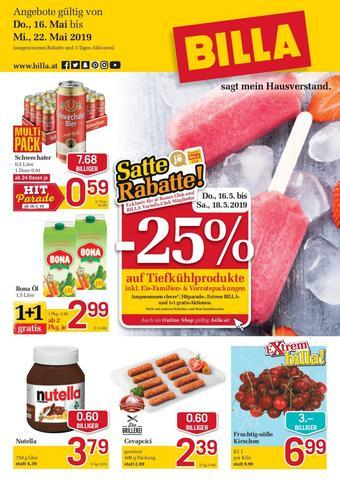 Billa Werbeflugblatt (bis einschl. 22-05)